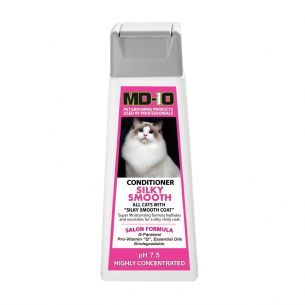 MD10 Conditioner Silky Smooth 300ml (Approx 10 Litre Diluted) Ragdoll Maine cooon, Somali, Siamese,